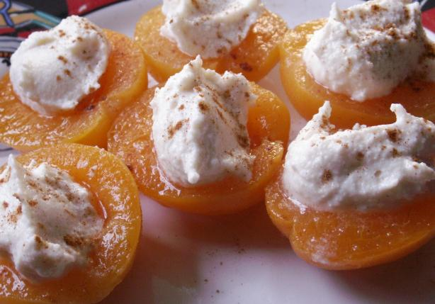 Ricotta Stuffed Apricots. Photo by JanuaryBride