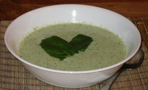 Cold Cucumber Soup. Photo by o0o0o