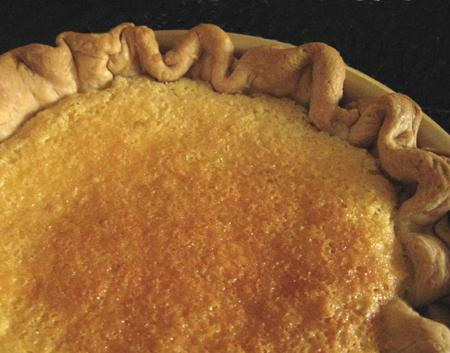 Southern Style Lemon Chess Pie Filling. Photo by Caroline Cooks