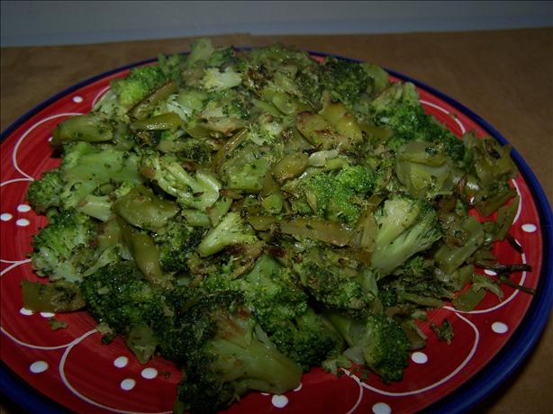 Pan-Roasted Broccoli. Photo by kzbhansen