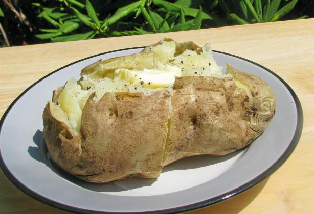 30 Minute Baked Potato. Photo by lazyme