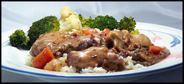 Crock Pot Coq Au Vin. Photo by kzbhansen