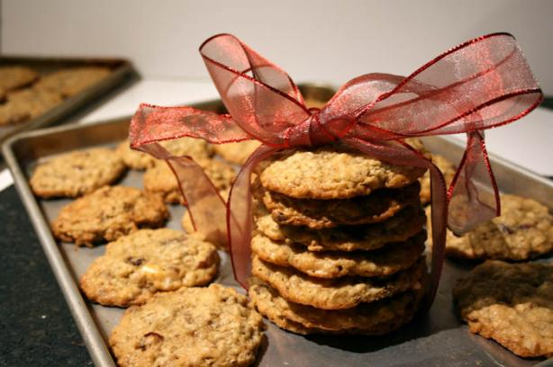 Oatmeal Cranberry Cookies. Photo by lilsweetie