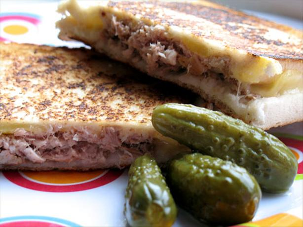 Yummy Grilled Tuna and Cheese Sandwiches. Photo by -Sylvie-