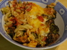 Three Cheese Broccoli and Penne Bake. Recipe by Kittencalskitchen
