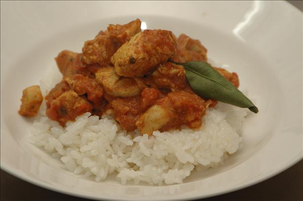 Chicken and Yoghurt Curry. Photo by Ingy