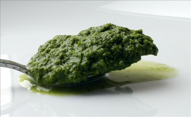 Green Chutney ( Indian Mint - Cilantro Chutney ). Photo by spacekadet