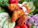 Fried Chicken BLT Salad