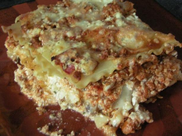 Ground Turkey Lasagna. Photo by Iluv2cook59