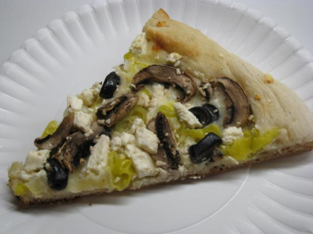 Greek Pizza. Photo by CabinKat