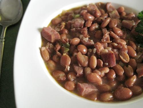 Pinto Beans & Ham. Photo by Caroline Cooks