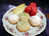 Key Lime Sparkler Cookies. Recipe by Southern Polar Bear
