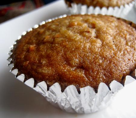 Pineapple Carrot Muffins. Photo by Caroline Cooks