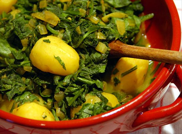 Saag Aloo. Photo by -Sylvie-