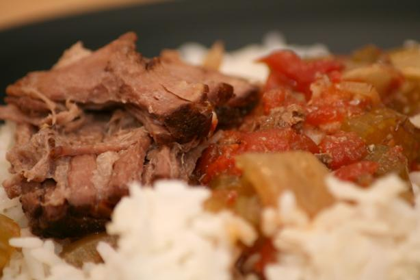 Cajun Pot Roast for the Crock Pot. Photo by CandyTX