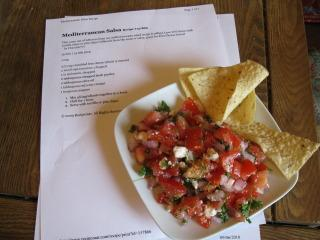Mediterranean Salsa. Photo by bigbadbrenda