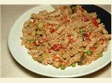 Salmon Fusilli With Zucchini &amp; Sun-Dried Tomatoes