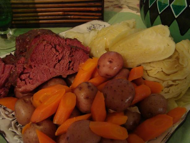 Crock Pot Corned Beef Dinner. Photo by PWatt