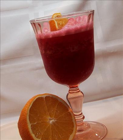 Cranberry-Orange Juice Slushee. Photo by PaulaG
