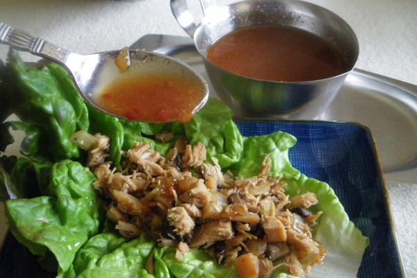 P. F. Chang's Chicken Lettuce Wraps. Photo by Bergy