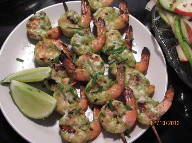 Grilled Shrimp With Lime-Cilantro Marinade. Photo by SneekerGirl