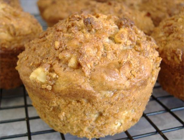 Banana Nut Crunch Muffins. Photo by Deb's Recipes