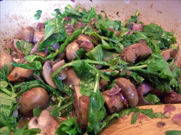 Sauteed Arugula (Rocket). Photo by Rita~