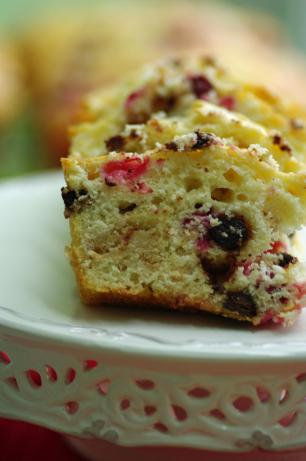 White Chocolate Cranberry Loaf (Light). Photo by Redsie