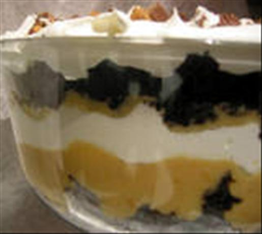 Peanut Butter Cup Trifle. Photo by Chef Dee