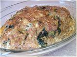 Turkey Pineapple Spinach Meatloaf