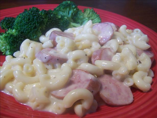 Smoked Sausage & Pasta W/ Cheese. Photo by *Parsley*