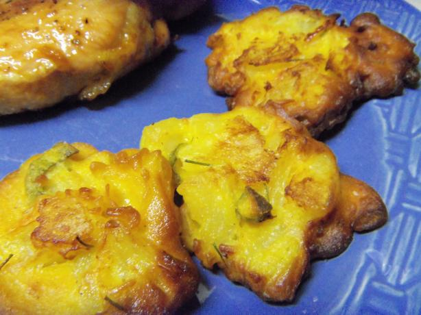 Spicy Pineapple Fritters. Photo by alligirl