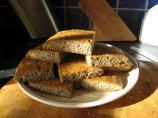 L - C Gluten Free Basic Flax Meal Focaccia Bread. Photo by Jacqdav
