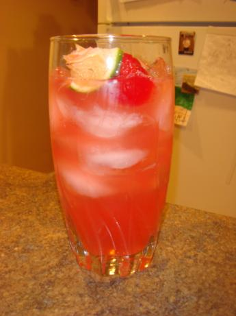 Bottoms up Cherry Limeade. Photo by Barenaked Chef