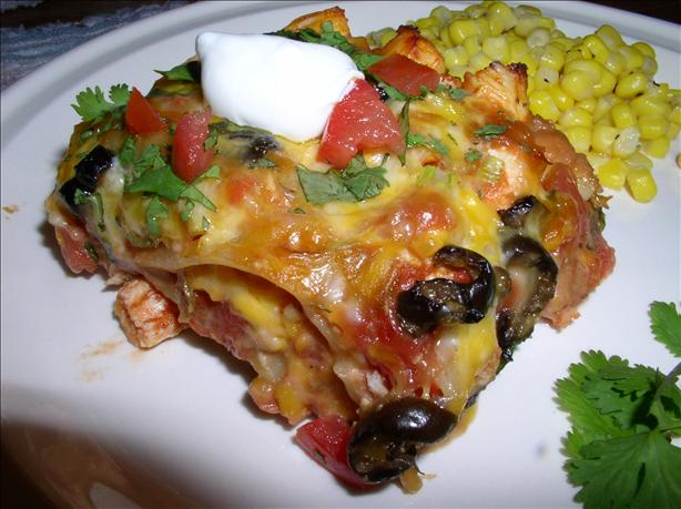 Taco Fiesta Chicken Lasagna. Photo by Bayhill