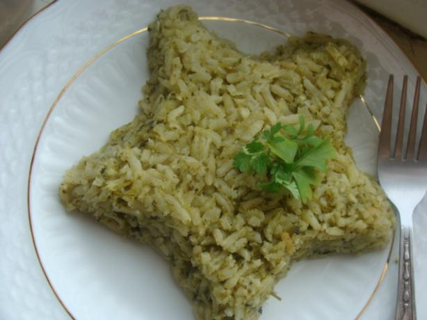 Arroz Verde Mexicano. Photo by littlemafia