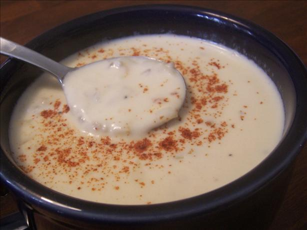 Creamy Clam Bisque. Photo by *Parsley*