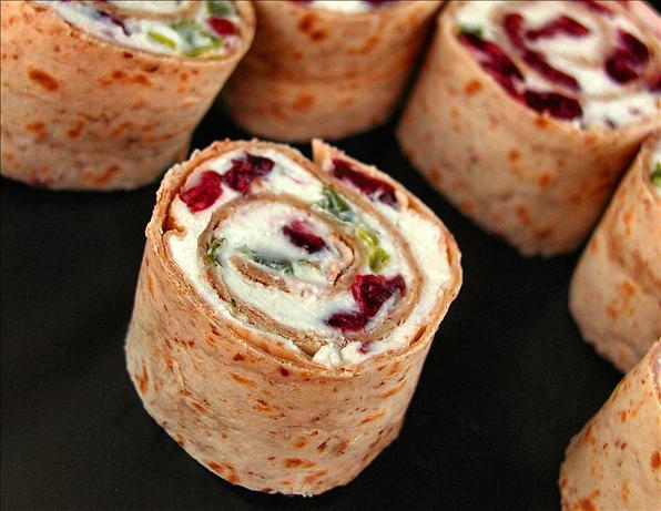 Cranberry Feta Pinwheels. Photo by <span class=