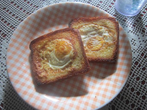 V for Vendetta's - Eggy in a Basket!. Photo by Chef #0