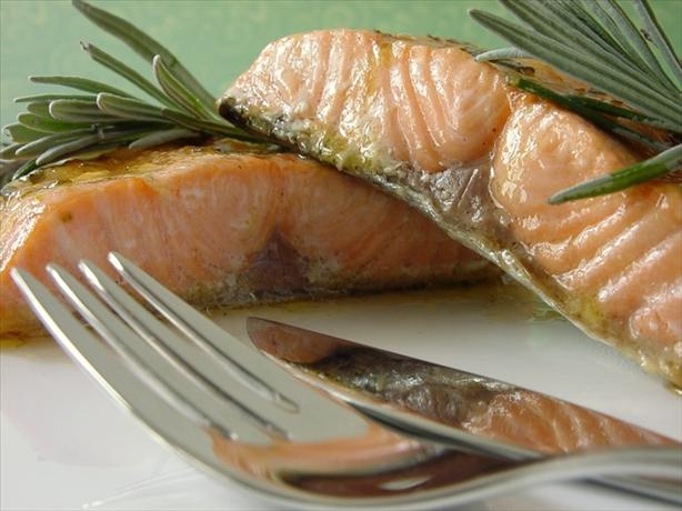 Grilled or Baked Salmon With Lavender. Photo by Thorsten