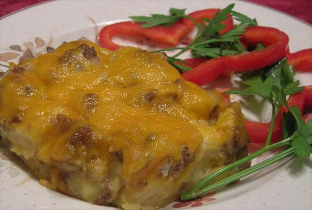 Sausage Breakfast Casserole. Photo by Lavender Lynn