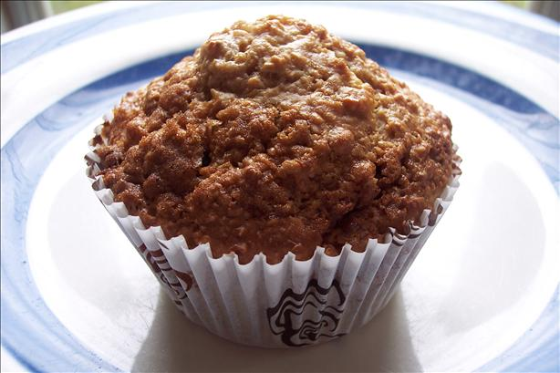Lighter, but Scrumptious Oatmeal Raisin Muffins :). Photo by PieInTheSky