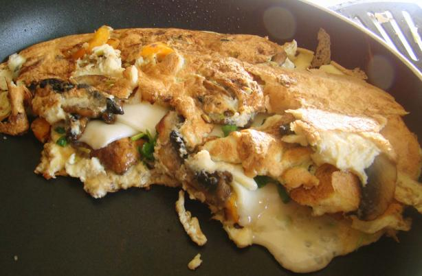 Veggie Omelette. Photo by Derf