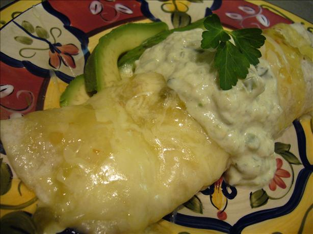 5 Minute Cheesy Enchilada Grande for 1. Photo by cookiedog
