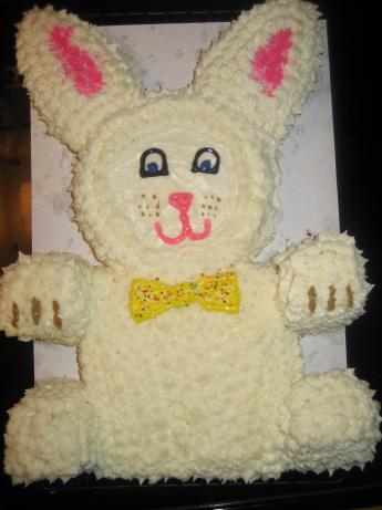 Easter Bunny Cake. Photo by Nesrew