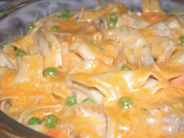 Tuna Noodle Casserole. Photo by Charlotte J