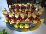 Tropical Fruit Party Skewers