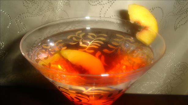 Peach Pie Martini. Photo by Jessica K