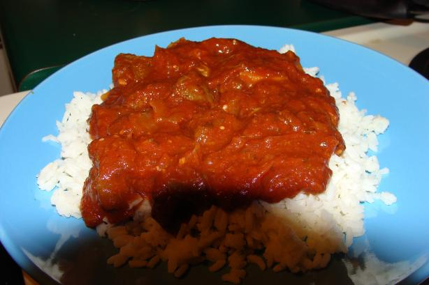Venison Swiss Steak Mediterranean (Slow Cooker). Photo by Kim of MS