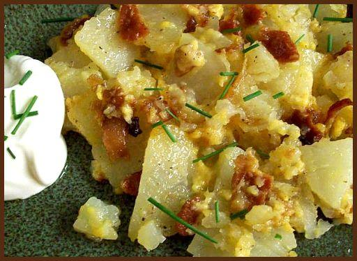 Cheesy Potato Bacon Packets for the Grill. Photo by diner524